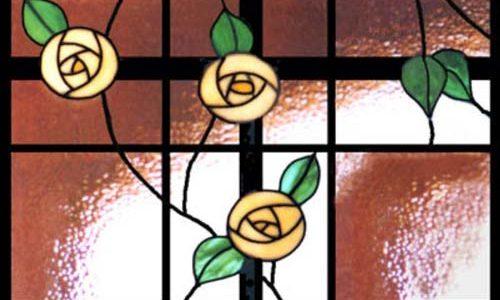 پنجره های شیشه ای تیفانی TW1