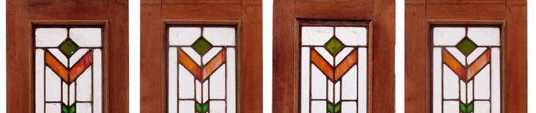 شیشه های تزئینی تیفانی