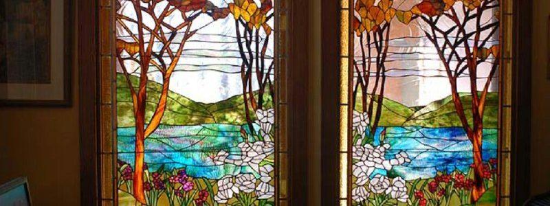 تاریخچه شیشه های تیفانی