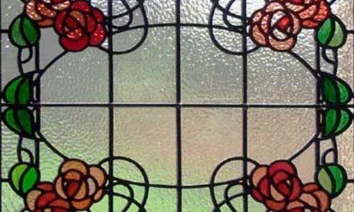 پنجره های شیشه ای تیفانی TW3