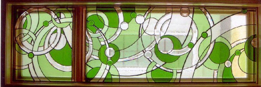 پنجره های شیشه ای تیفانی TW4