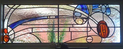 پنجره های شیشه ای تیفانی TW5