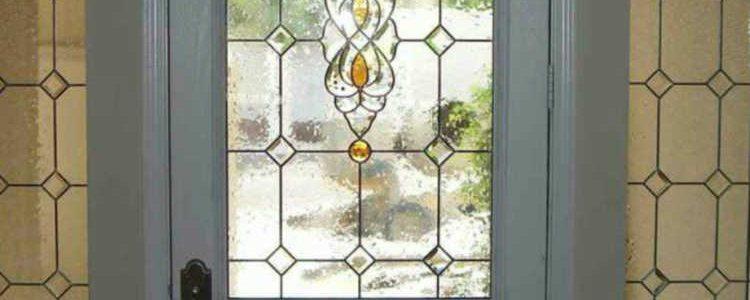 شیشه تراش دار برجسته